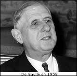 En quelle année de Gaulle retourne-t-il au pouvoir ?