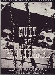 """Le documentaire """"Nuit et Brouillard"""" de 1956 montre-t-il que la mémoire du génocide des juifs est alors englobée dans celle de la déportation en général ?"""