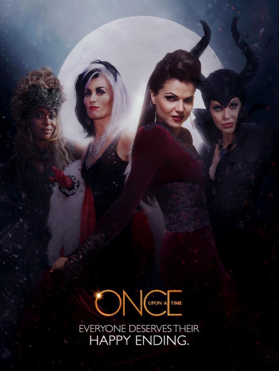 Les méchants de 'Once Upon A Time'