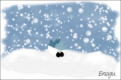 """""""Il neige"""" !"""