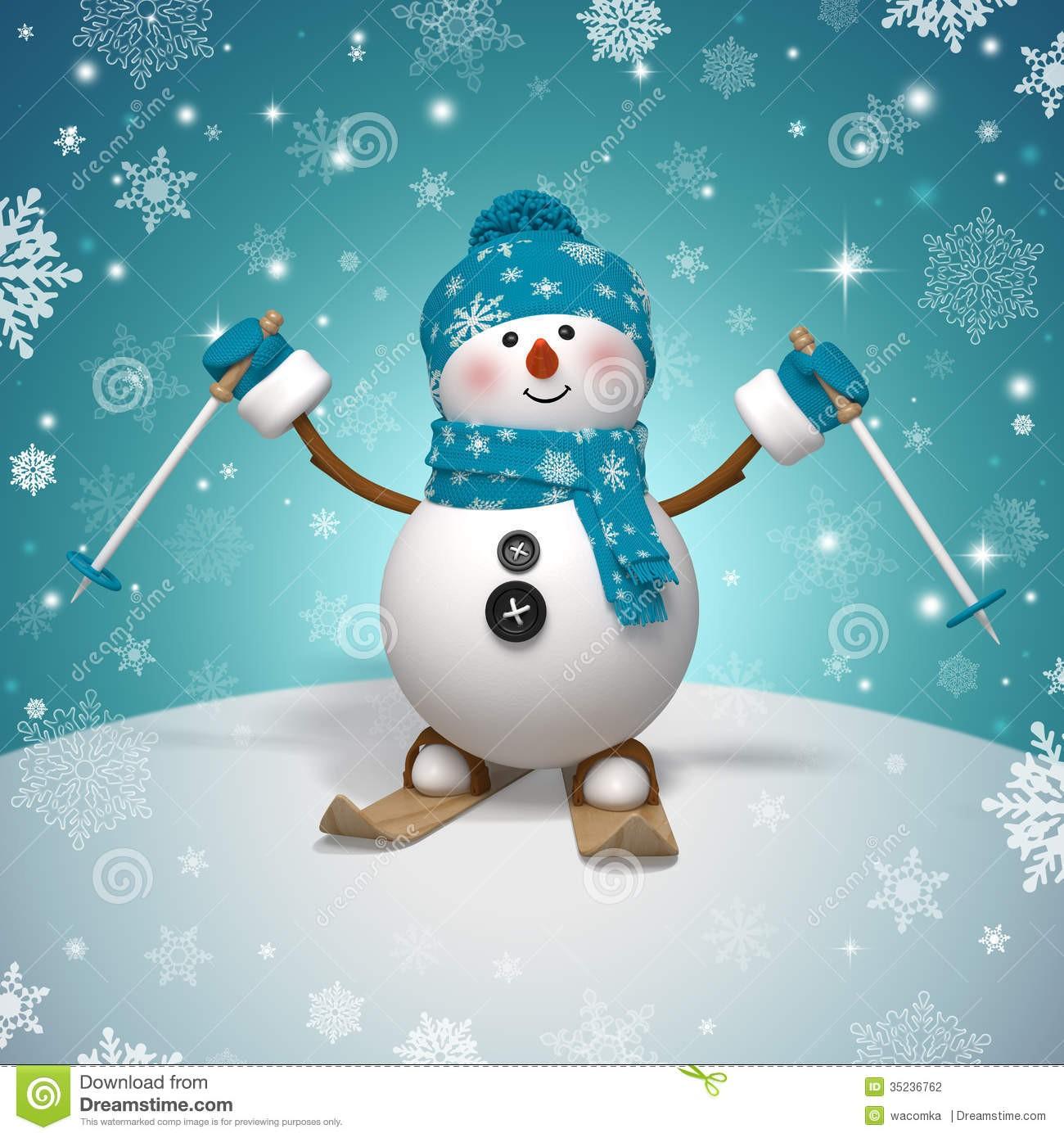 Les anglais aux sports d'hiver !