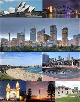 De quel pays Sidney est-elle la capitale ?