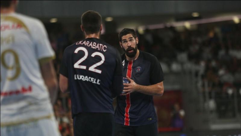 Quelle est la marque du maillot du PSG handball ?