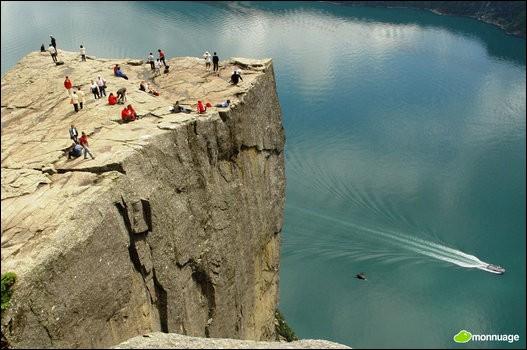 « Preikestolen » est une imposante falaise de Norvège qui culmine à 604 mètres au-dessus des eaux du Lysefjord. Il existe une légende dont les randonneurs ne semblent pas trop se préoccuper : On peut voir une fissure entre le plateau du Preikestolen et la montagne, et on dit que le jour où un certain nombre de sœurs se marieront au même nombre de frères de la région, celui-ci se détachera de la montagne et s'écrasera dans le fjord, ce qui anéantira toute vie dans les environs. Quel est ce nombre ?