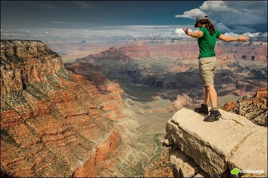 Par quel fleuve la gorge du « Grand Canyon » a-t-elle été creusée ?