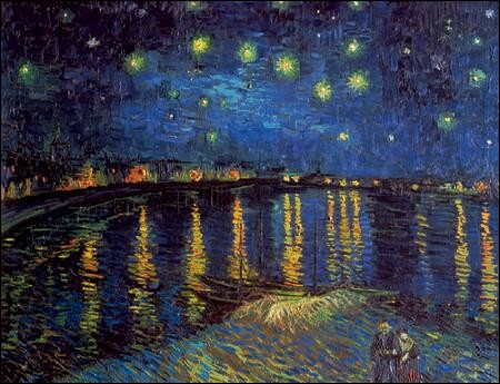 Magnifique découverte pour moi ! C'est une copie d'un célèbre tableau de van Gogh !