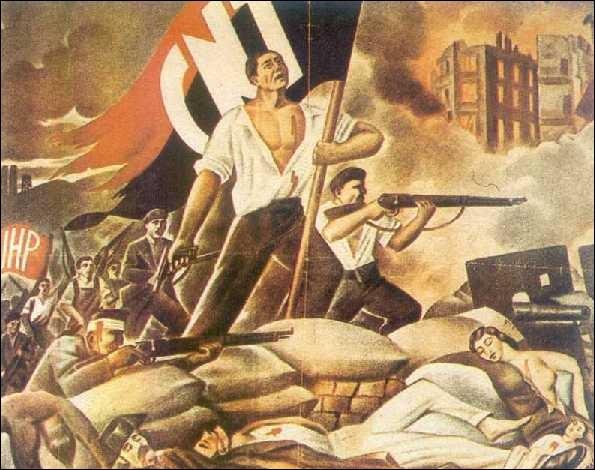 De quelles couleurs est composé le drapeau de l'anarcho- syndicalisme ?