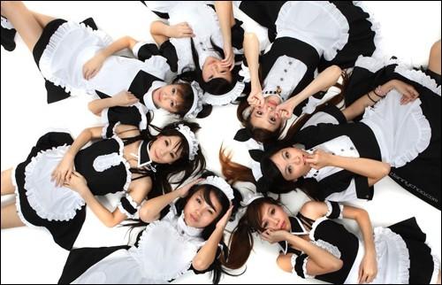 Comment appelle-t-on au Japon ces filles déguisées en soubrettes ?