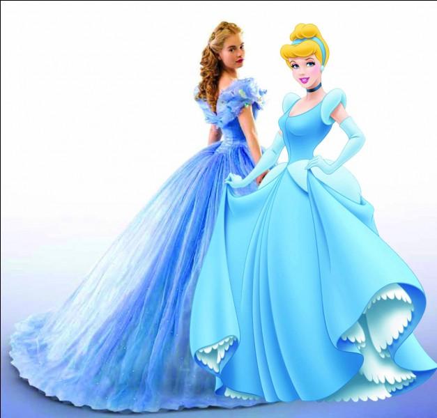 Je suis une princesse Disney ; quand minuit sonne je m'enfuis et je perds mon soulier. Qui suis-je ?