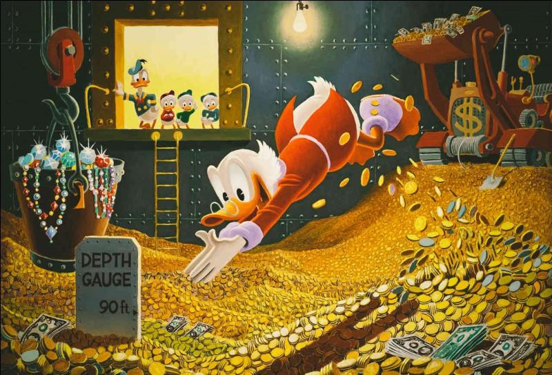 Dans les Disney, je suis un personnage avare, oncle de Donald, Riri, Fifi et Loulou. Qui suis je ?