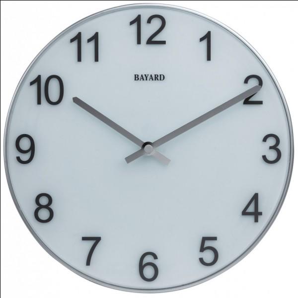 S'il est 20h51 et que quelqu'un m'appelle je lui demande de me rappeler dans 5 min car je suis occupé. Quelle heure sera-t-il quand il rappellera ?