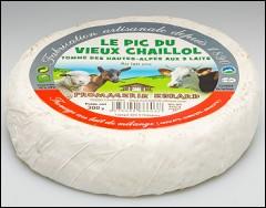 Quel lait n'entre pas dans la composition de ce fromage des Hautes-Alpes ?