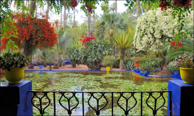 """Si vous allez au Maroc, dans quelle ville irez-vous découvrir """"Le jardin Majorelle"""" ?"""