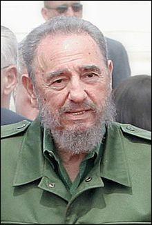 Grand dictateur, il dirigea d'une main ferme Cuba. Il se nomme...
