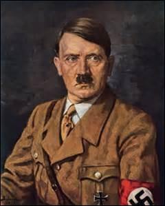 Dirigeant l'Allemagne de 1939 à 1945 pendant la Deuxième Guerre mondiale, créant le Parti nazi et tuant des millions de gens (60 millions) dont beaucoup de Juifs. Comment se nomme-t-il ?