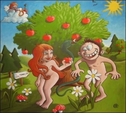Je vous emmène avec moi, on va croquer la pomme !