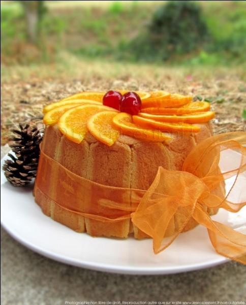 Quel est ce gâteau à l'orange ?