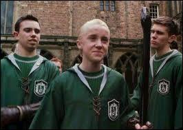 Au cours de sa deuxième année à Poudlard, Draco devient attrapeur dans l'équipe de Quidditch de Serpentard. Pourquoi ?