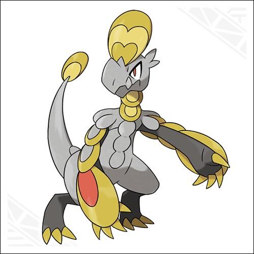 Dans pokemon soleil et lune, de quelle type est Ecaïd ?