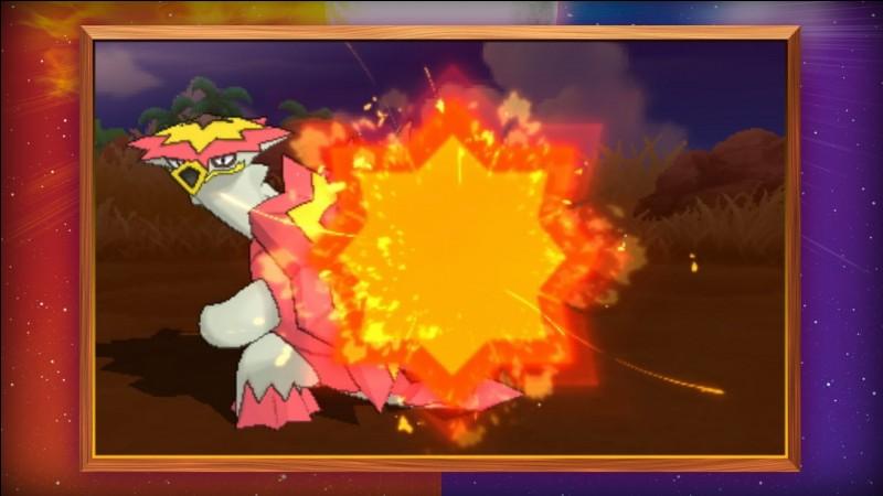 Dans pokemon soleil et lune, de quelle type est Boumata ?