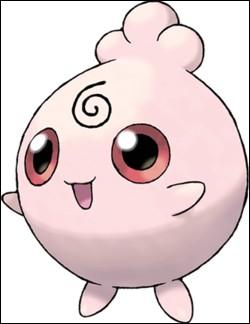 Quel Pokémon, de la 2G et de type Fée, a le numéro national #174 ?