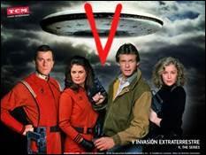 """V - De quel genre était la série de télévision """"V"""" diffusée à partir de 1983 ?"""