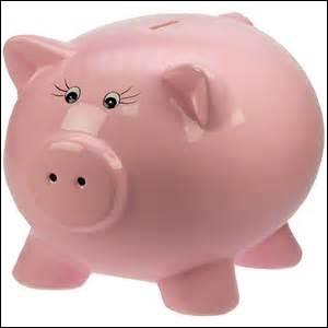 Dans quel dessin animé y a-t-il un cochon qui s'appelle Tirelire ?