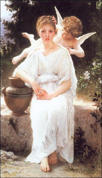 """Qui a peint """"Les murmures de l'amour"""" ?"""