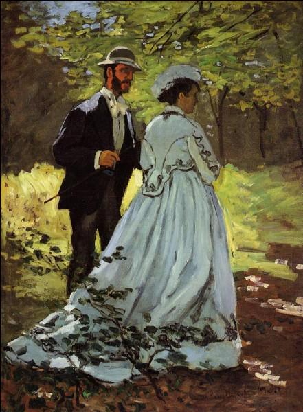 """Qui a peint """"Les promeneurs"""" ?"""