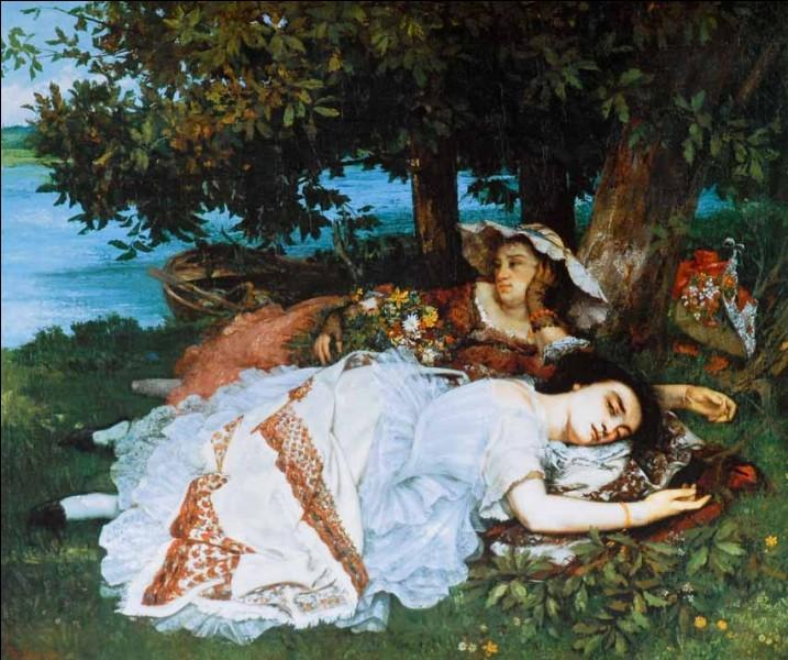 """Qui a peint """"Les demoiselles des bords de Seine"""" ?"""