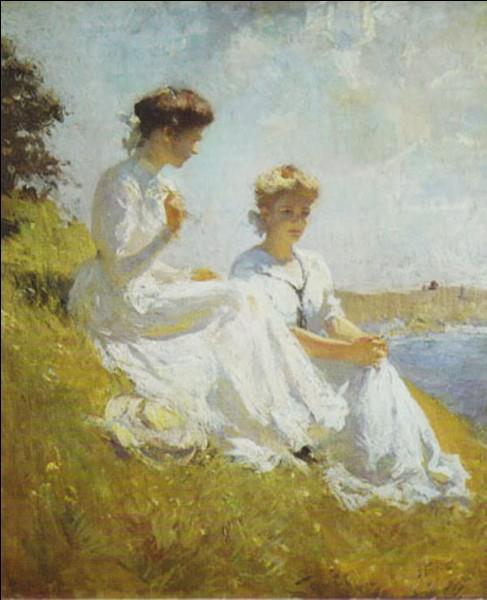 Qui a peint ces femmes en blanc ?