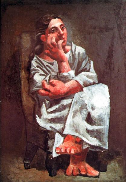 """Qui a peint """"Femme assise"""" ?"""
