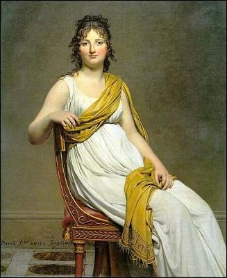 Qui a fait ce portrait de Madame de Verninac ?