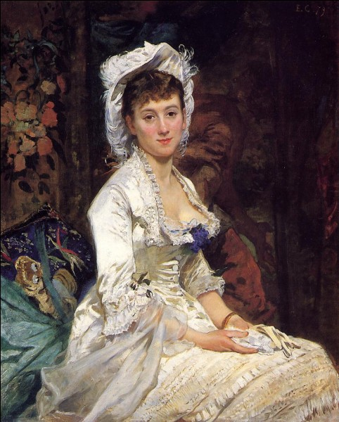 """Qui a peint """"Portrait d'une femme en blanc"""" ?"""