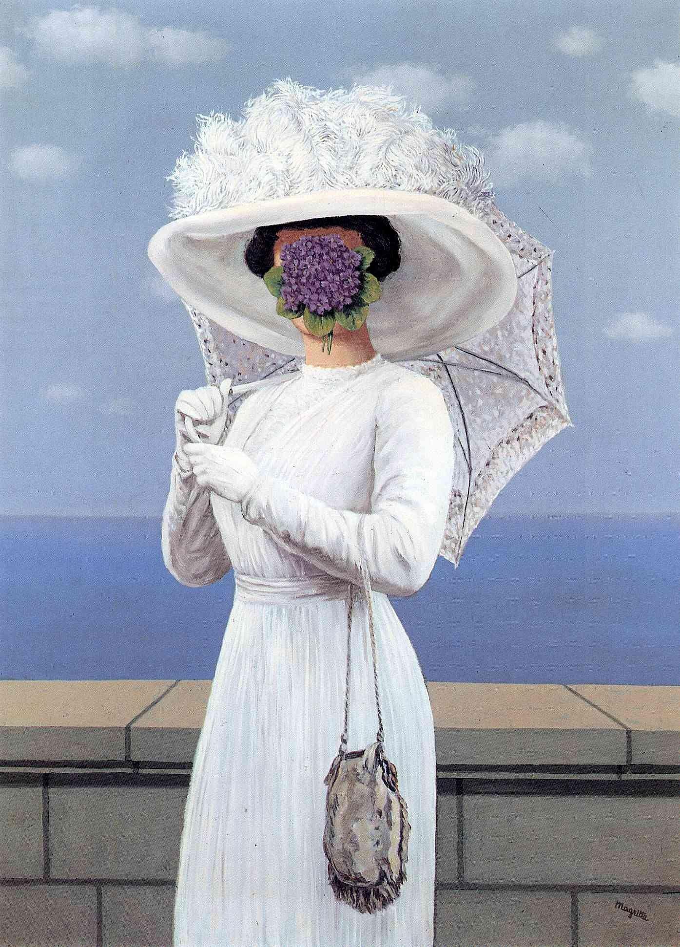 Les robes blanches en peinture (3)