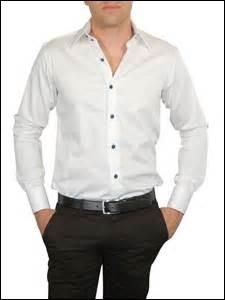 Chez les hommes, de quel côté sont se trouvent les boutons de couture (sur une chemise par exemple) ?