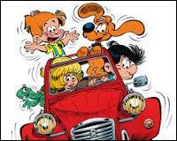 Quelle est la voiture des parents de Boule ?
