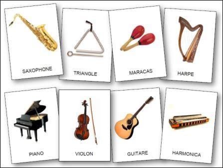Quel instrument de musique préfères-tu ?