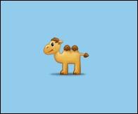 🐫Le chameau a une bosse.