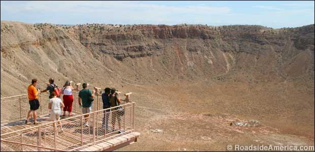 Où est situé Meteor Crater ?