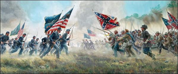 En quelle année la guerre de Sécession a-t-elle commencé ?