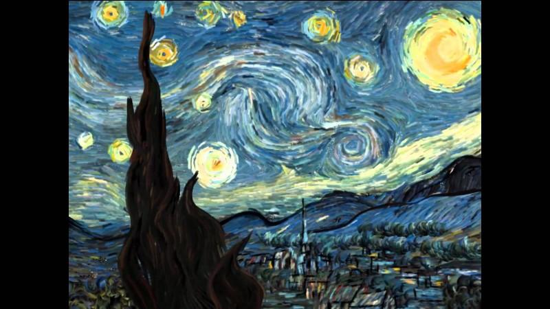 """Quel peintre a peint """"La nuit étoilée"""" ?"""
