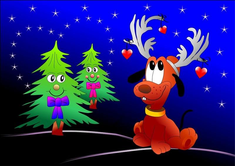 Quel personnage des films Disney, qui ne parle pas, se prend, ici, pour un renne dont le panache est orné de cœurs ?