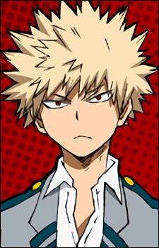 "Comment s'appelle le rival d'Izuku Moriya dans ""My Hero Academia"" ?"