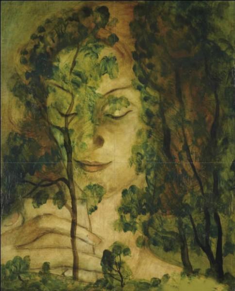 """Qui a peint """"Femme aux arbres"""" ?"""
