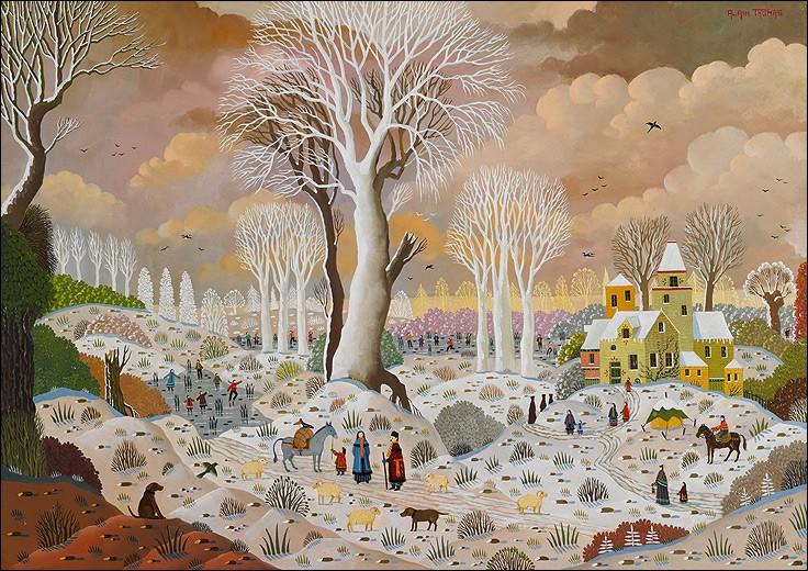 """Quel peintre naïf a représenté """"L'arbre blanc"""" ?"""