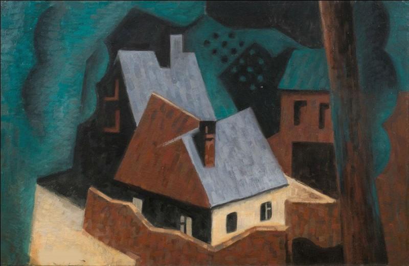 """A qui appartient le tableau """"arbres et maisons"""" ?"""