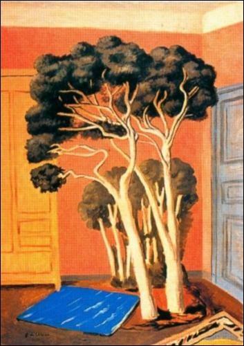 """Qui représenté """"Les arbres dans la chambre"""" ?"""