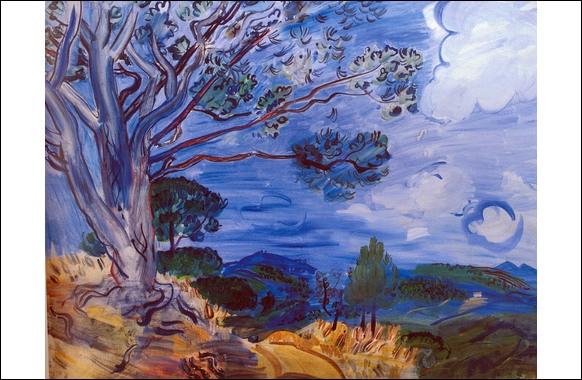"""Qui est le peintre du """"grand arbre à Sainte-Maxime"""" ?"""
