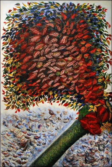 "Qui a peint ""L'arbre rouge"" ?"